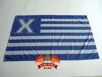Wholesale Xavier University Flag ft x ft Polyester Banner Flying cm Custom flag sport helmet