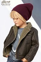 add down kids - New baby boys western style jacket lapel kids fashion army green thicken Add wool warm clothes