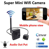 audio video door - New P mini IP camera Hidden wireless p2p cam Onvif HD wifi cameras cctv security system with audio for home door video