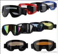 Wholesale New POLYCARBONATE Protection Outdoor Sports Motorcycle Goggles Goggles Motorcycle Off Road Cycling Goggle Glasses Eyewear Lens