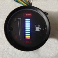 Wholesale 50mm Fuel Meter LED Digital DC12V Fuel Gauge Fuel Meter LED Digital DC12V Fuel Gauge For Car Motorcycle Instruments