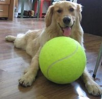 beach dog toys - YIYUAN Inch Tennis Ball Toy Large Pet Toys Dogs Play Outdoor Sports Cricket Beach Cricket