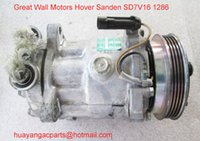 Wholesale Sanden SD7V16 Great Wall Hover auto air compressor pk Air conditioning compressor pump