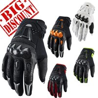 Wholesale New Carbon bomber motocross racing gloves BMX ATV race MTB MX Off Road glove Motorcycle gloves
