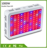 Wholesale 2016 new arrivals W W W W W Double Chips LED Grow Light Full Spectrum For Indoor Plants and Flower Phrase High Yield