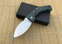 big folding knife - new cold steel folding knife gift box giant dog leg big folding knife camping tools C blade Micarta handle HRC