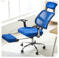 Wholesale Commercial Furniture chair blue color offcie multifuntion chair customized