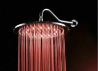 "Cheap 8"" round LED shower head brass rainfall overhead bathroom bath mixer faucet tap Cheap bathroom toothbrush"