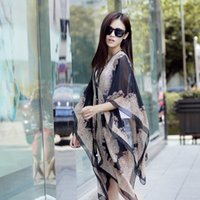Wholesale Ladies Charming Shawl Sun Block New Design Chiffon Scarves Soft Variety Wear Styles Summer Fashion Accessories