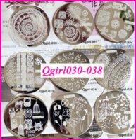 art collectibles - 10pcs Qgirl Stamping Plates Qgirl034 Qgirl Nail Art Stamp Qgirl001 stamp collectibles