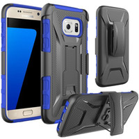 belt pouch holster - Armor Holster Defender Full Body Protective Hybrid Case Cover for iphone s Plus s Samsung S7 S6 Edge LG Nexus X With Belt Swivel Clip