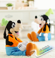 as picture Cloth Unisex 40cm=15inch retail sale stuffed GOOFY dog plush toys,Goofy stuffed baby children soft toy for baby&kids gifts
