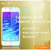 anti reflective film - New Samsung Z1 Z130H brand mobile phone protection film HD scratch resistant anti fingerprint anti reflective tempered glass Sumsung film