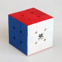 Cubo mágico de la velocidad de Dayan ZhanChi v5 cubo mágico de Cubo Magico de Cubo Magico del cubo del cubo del cubo de la magia de 3x3x3 50m m Juguetes clásicos libres