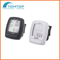 Wholesale White Black Waterproof LCD Cycling Mountain Road MTB Bike Computer Bicycle Odometer Cycle Speedometer Multifunction