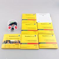 26 DVDs pedra RosettaStone Língua software Biblioteca sido ativado transporte rápido PK exercício DVDs vídeos de treino