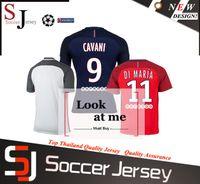 best champions league - Best Quality Maillot de Foot champions league jersey David Luiz Cavani Motta Di Maria paris Jersey Home away Jersey