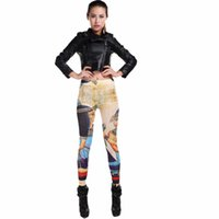 Wholesale Hot Vintage Egypt Style Yoga Pant Sports Leggings Women Elastic Fitness Gym Sports Pants Girls Yoga Clothes Pants Kits Trousers