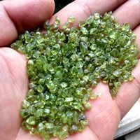 art minerals - 100g Natural Peridot Olivine Polishing Crystal Stone Rough Mineral Specimen