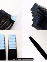 Wholesale Tape In Human Hair Extensions Skin Weft Hair Extensions In Invisible Hair
