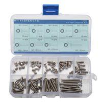 assortment machine screws stainless - M3 Torx Flat Head Machine Screws Assortment Kit Stainless Steel Thread Dia mm