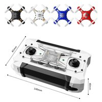 Wholesale FQ777 Pocket Drone G CH Axis Gyro Quadcopter Remote Control Switchable Controller RTF Toys Mini Drone