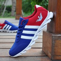 art of sport - The trend of casual shoes men s running shoes breathable men shoes British tide canvas shoes Blade sports shoes