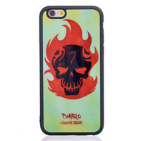 abs pattern - Suicide Squad Fashion Fall Patterned Tpu Soft Rubber Silicone Cover Case Skin Back For Iphone s Iphone s Plus Phone Cover