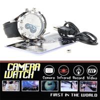 Wholesale 5pcs Mini Waterproof Spy Hidden Watch Camera Mini Watch DVR gb Hd p with Ir Night Vision Camera Portable Candid Camera
