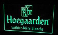 beer belgium - LS482 g Hoegaarden Belgium Beer Bar Neon Light Sign jpg