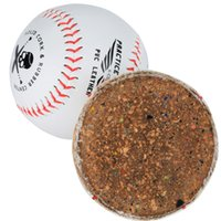 baseball pitches - Timbows Sports Outdoor Practice Training Baseballs Pitching PVC Leather Red Sewing Solid Cork Rubber Center Set of Pack of