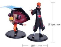 Wholesale 18 cm Naruto Action Figures Doll toy Cartoon Decoration Model toys Naruto comic figure toys set Children best festival gifts