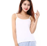 Women spaghetti strap tank top lot - hotsales korean style candy color modal cotton blended women camis tops spaghetti strap lady tank tops
