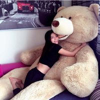 bear feet - 2016 hot sale Huge Giant Teddy Bear quot Feet High Quality Plush Toys Birthday Valentine s Day Girlfriend Gifts FREE EMS