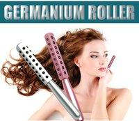 100pcs KAKUSAN 30 40 48 Germanio Pietre Giappone Semiconductor Massager del fronte rullo facciale di bellezza Beauty Bar DHL Fr