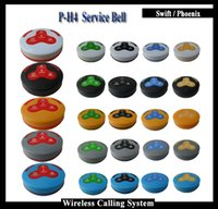 Wholesale 2016 New Restaurant Buzzers Bell Button for restaurant wireless table bell system set