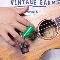 Wholesale Hot Sale Guitar Ukulele Sand Shaker Hammer Rhythm Cabasa Wear on Finger Stable Green