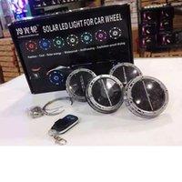 auto tire rims - 2016 New Modes LED Car Auto Solar Energy Flash Wheel Tire Rim Light Lamp Decoration