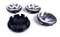 Wholesale HOT SALE VOLKSWAGEN VW SET OF CENTER WHEEL WHEELS RIM RIMS CAP CAPS MM BLACK