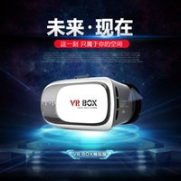 Wholesale VR BOX glasses virtual reality d glasses VR BOX second generation little mirror helmet home phone storm storm glasses