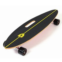 Wholesale 2016 New Arrival inches Official Ferrari Portable Skateboard Long Skating Professional Layers Maple Wood Deck Board Skater FBW33