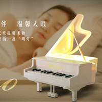 Wholesale Piano touch LED lamp USB charging energy Nightlight dormitory bedroom reading lamp