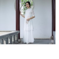 Wholesale Chinese embroidery render unlined upper garment