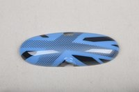 Wholesale Brand New ABS Plastic UV Protected Speedwell Blue Style interior mirror Cover for mini cooper R50 R52 R53 Set