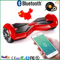 Wholesale hoverboard bluetooth Two Wheels Hoverboards Bluetooth Electric Skateboard with Bluetooth Hoverboard for Kid Adult