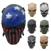 army film - Outdoor Wargame Tactical Mask Black God Full Face Airsoft Paintball CS Army Mask Halloween Party Cosplay Horror Gost Skull Mask