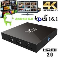 Wholesale X96 K Smart TV BOX Android Amlogic S905X Quad Core H Media Player KODI Marshmallow GHz Wifi Miracast Airplay