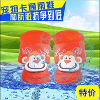 Wholesale Silicone Pet Dog Puppy Waterproof Protective Adjustable Walk Shoes Boots Size S M L for option