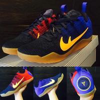 barcelona fc kids - Kobe XI Basketball Shoes Sports Kobe Low Basketball Shoes with shoes Box FCB Bryant Mambacurial FC Barcelona Kids shoes