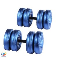 Wholesale Newest Adjustable Dumbbell for selling water filled dumbbells eco friendly fitness equipment for weight loss